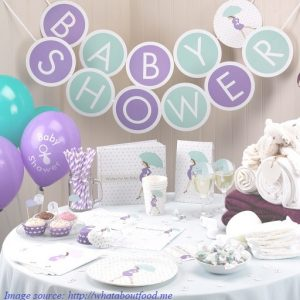 Image of Baby Shower decor