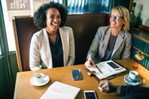 image of people meeting
